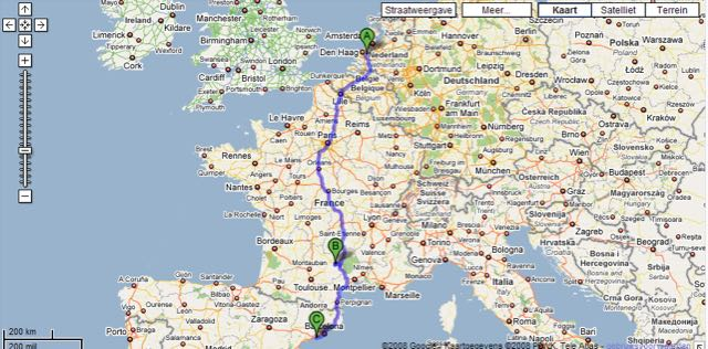Road To Spain Petervanderhulst Com Those Who Can T Share Can