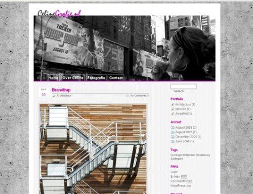 New website Celinegrafie