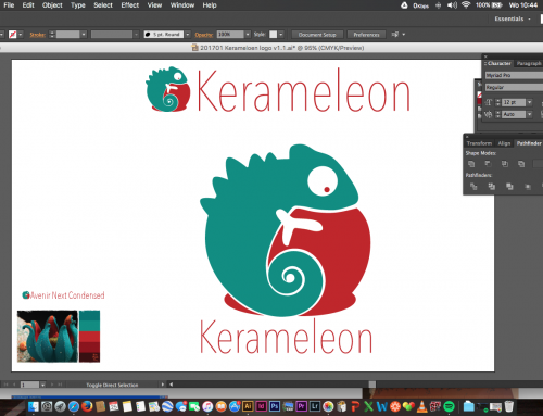 New logo development