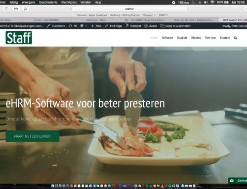 New STAFF website online