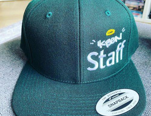 """Cap """"Ik ben Staff"""""""