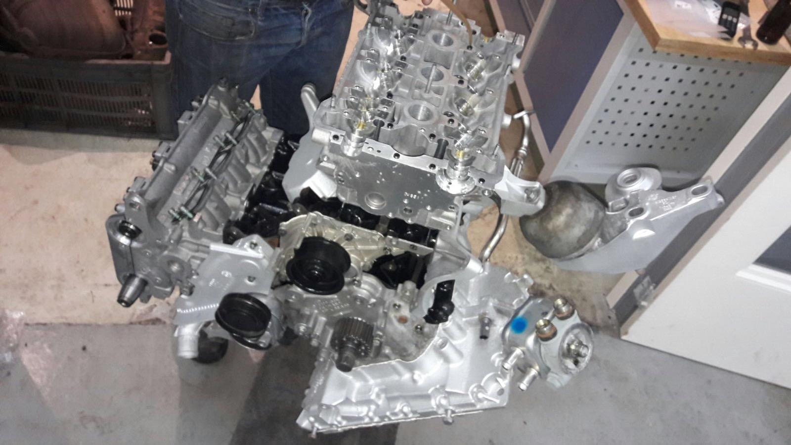 Big progress on the engine