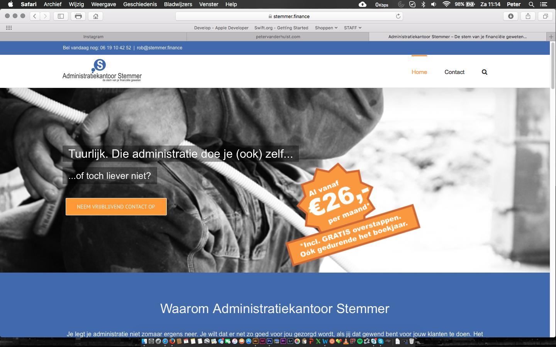 New website Stemmer Finance online