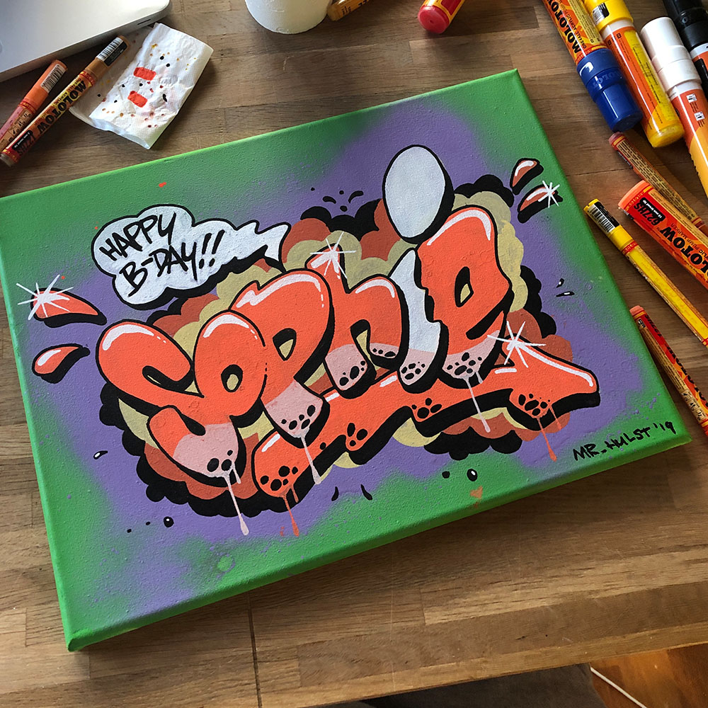 """Canvas """"Sophie"""""""