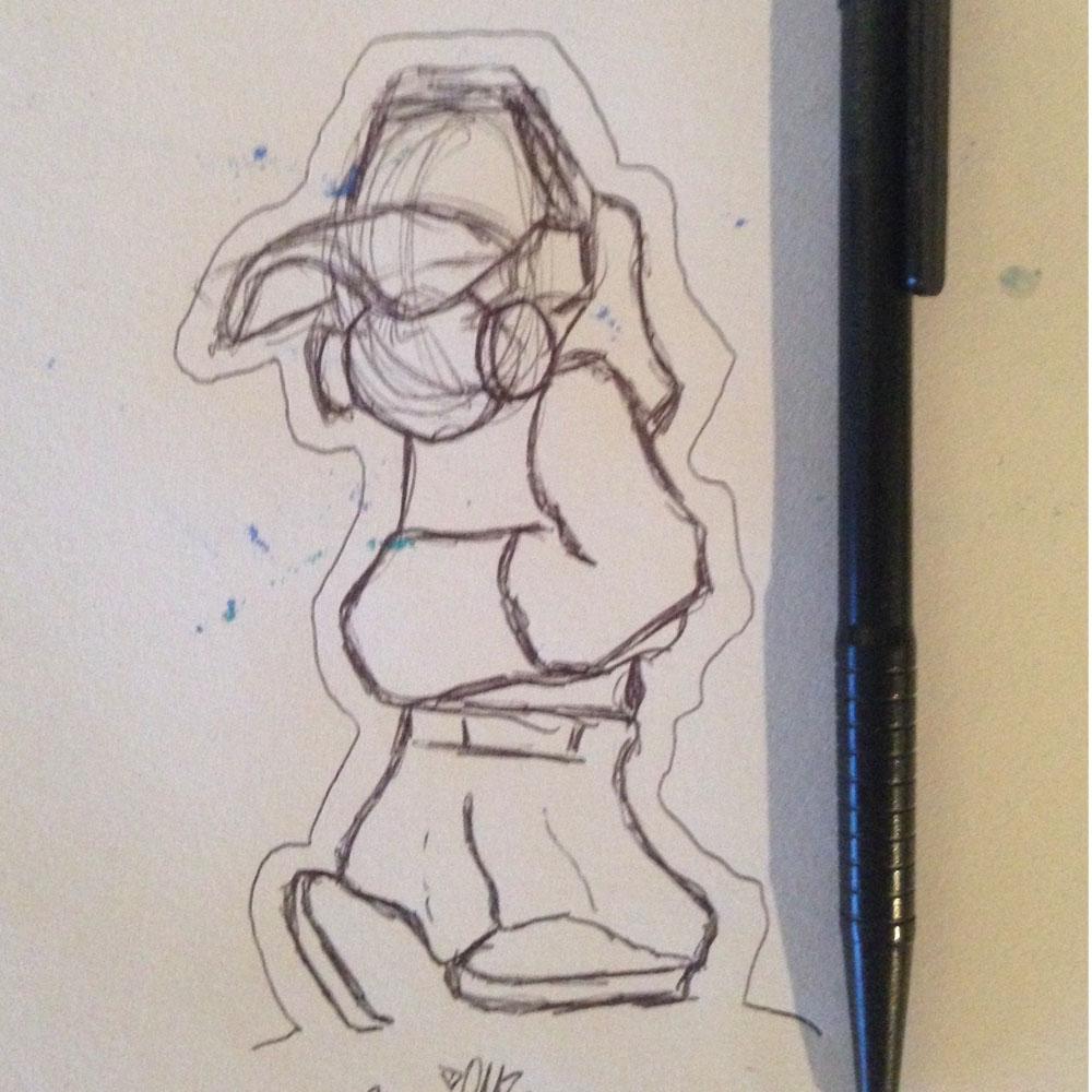 Sketch B-Boy
