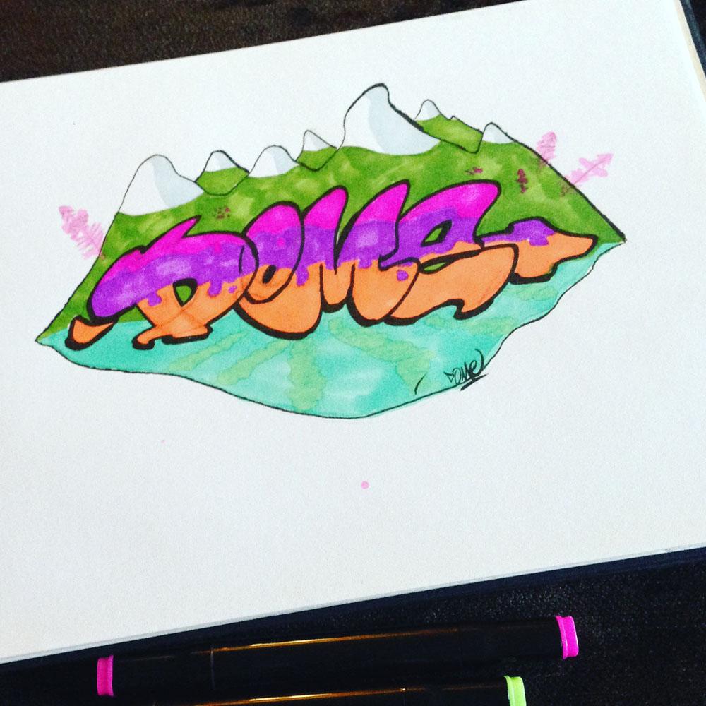 "Sketch ""Dome"""